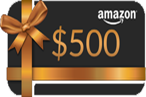 Get $500 Amazon Gift Card